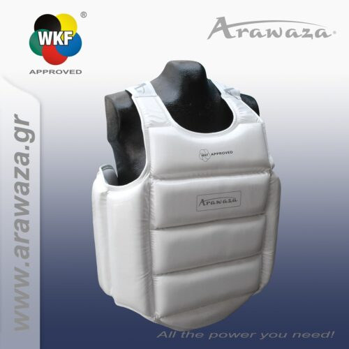 Arawaza External WKF approved Body Protector