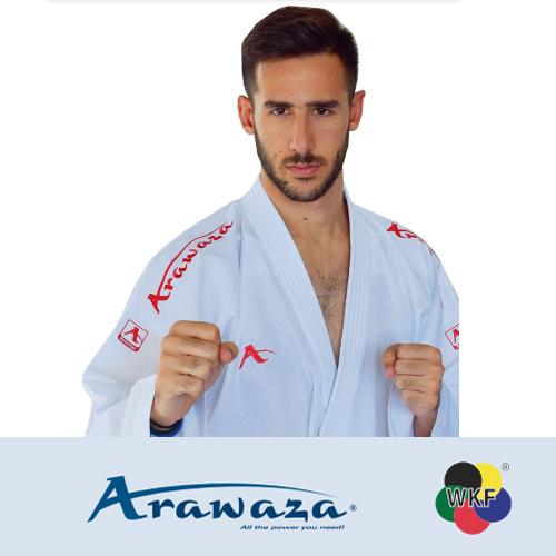 ARAWAZA-ΣΤΟΛΗ-ΚΑΡΑΤΕ-ONYX-ZERO-GRAVITY-5oz-PREMIER-LEAGUE-RED