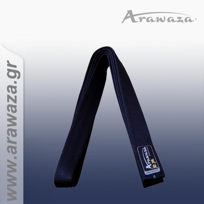 Arawaza Belt-Black Medium Thickness