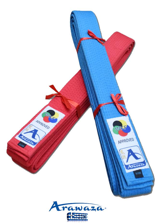 Arawaza WKF Approved Japanese Style Kata Belts